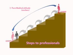 Steps to professionals