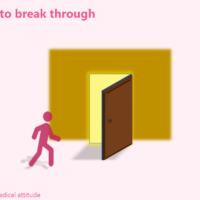 Try to break through