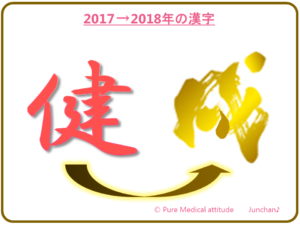2017~2018年の漢字