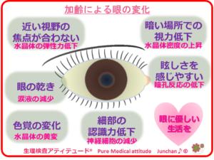 加齢による眼の変化
