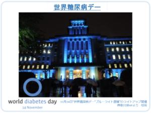 世界糖尿病デー 神奈川県歴博