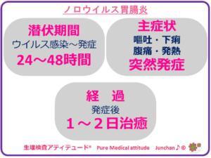 ノロウイルス胃腸炎
