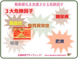 動脈硬化を加速させる危険因子