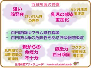 百日咳菌の特徴
