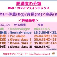 肥満度の分類