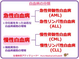 白血病の分類